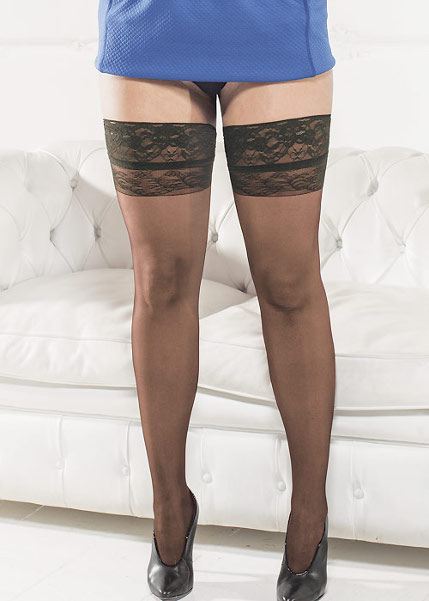 Trasparenze Margherita Stay-ups X-Large / XL-Legs.com